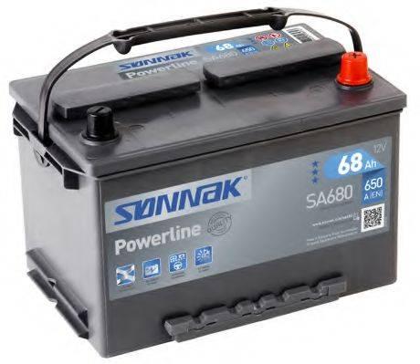 SONNAK SA680 Стартерная аккумуляторная батарея; Стартерная аккумуляторная батарея