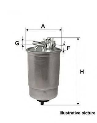 OPEN PARTS EFF504320 Топливный фильтр