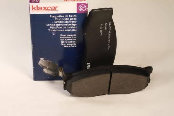 KLAXCAR FRANCE 24809Z Комплект тормозных колодок, дисковый тормоз