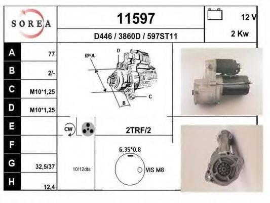 EAI 11597 Стартер