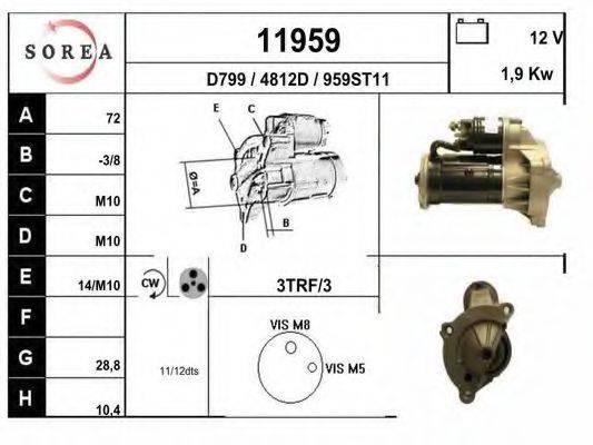 EAI 11959 Стартер