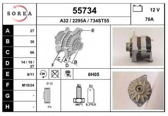 EAI 55734 Генератор
