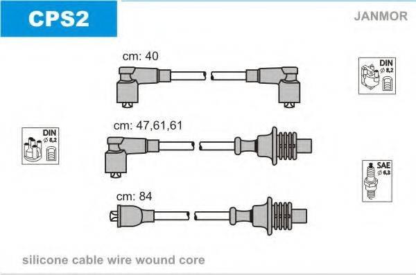 JANMOR CPS2 Комплект проводов зажигания