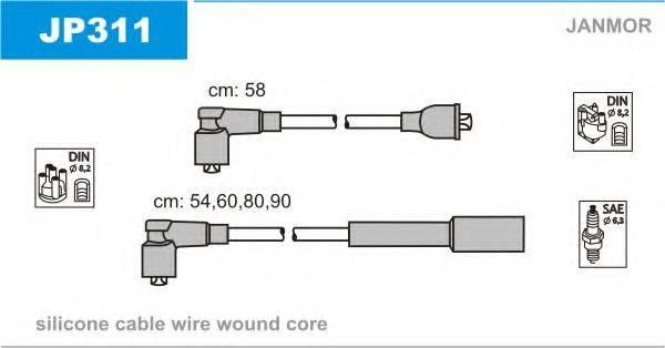 JANMOR JP311 Комплект проводов зажигания