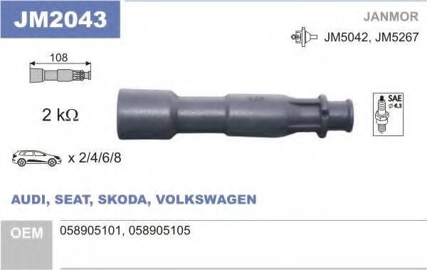 JANMOR JM2043 Вилка, катушка зажигания