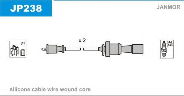 JANMOR JP238 Комплект проводов зажигания