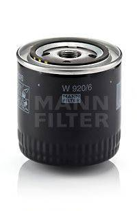 Масляный фильтр MANN-FILTER W 920/6