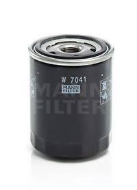 MANN-FILTER W7041 Масляный фильтр