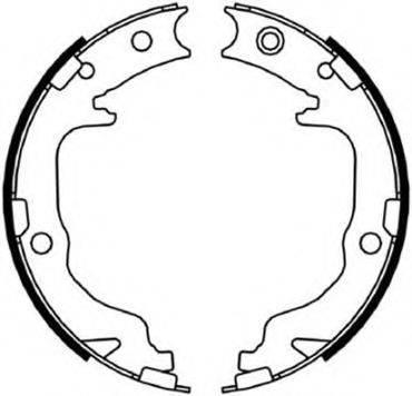 RAICAM 2971 Комплект тормозных колодок