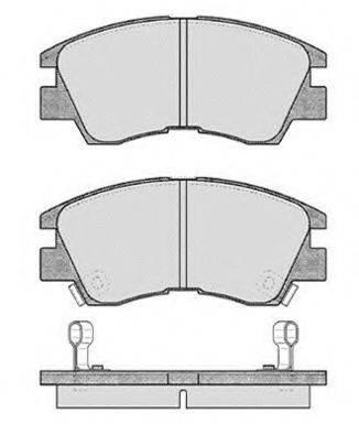 RAICAM RA04950 Комплект тормозных колодок, дисковый тормоз