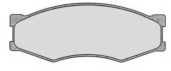 RAICAM RA05141 Комплект тормозных колодок, дисковый тормоз