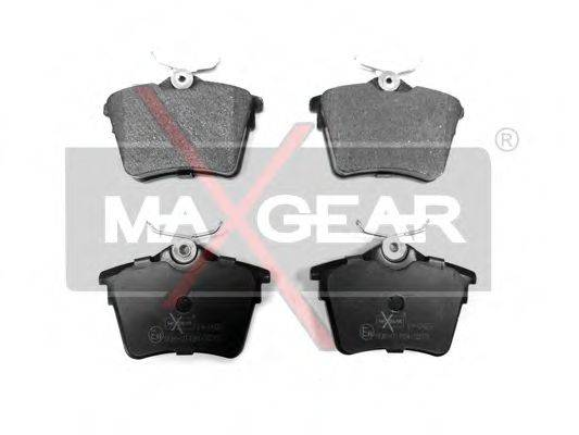 MAXGEAR 190423 Комплект тормозных колодок, дисковый тормоз