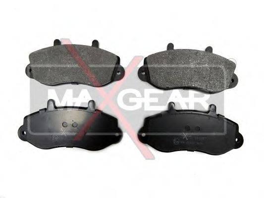 MAXGEAR 190587 Комплект тормозных колодок, дисковый тормоз
