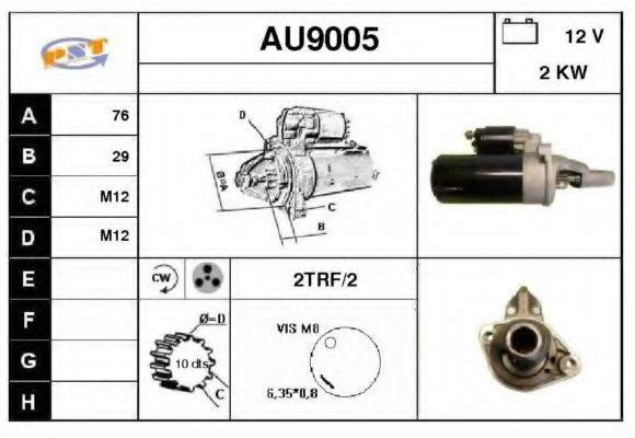 SNRA AU9005 Стартер