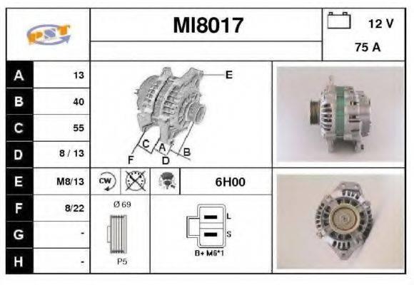 SNRA MI8017 Генератор