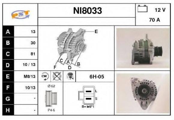 SNRA NI8033 Генератор