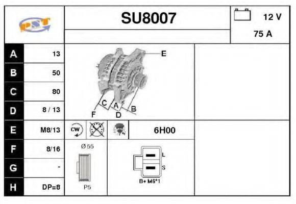 SNRA SU8007 Генератор