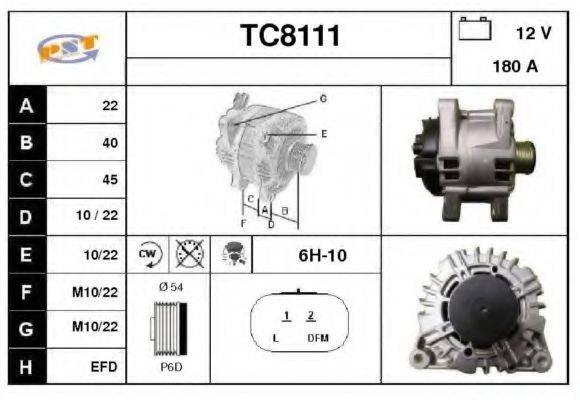 SNRA TC8111 Генератор