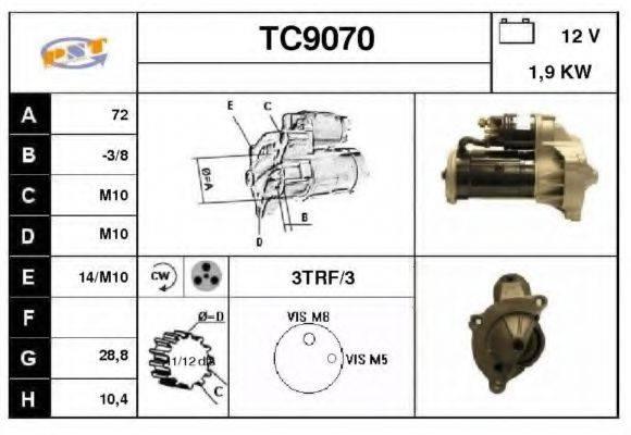 SNRA TC9070 Стартер