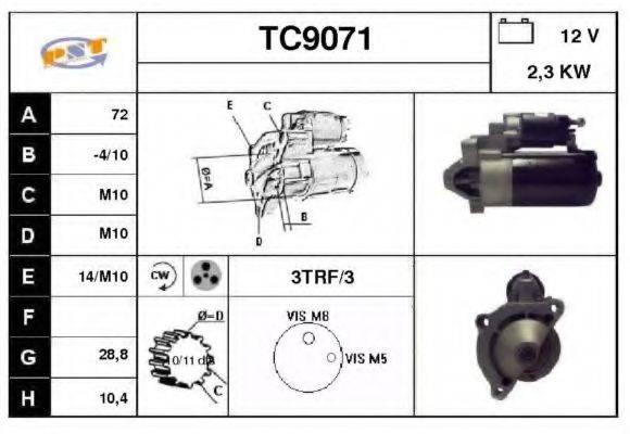 SNRA TC9071 Стартер