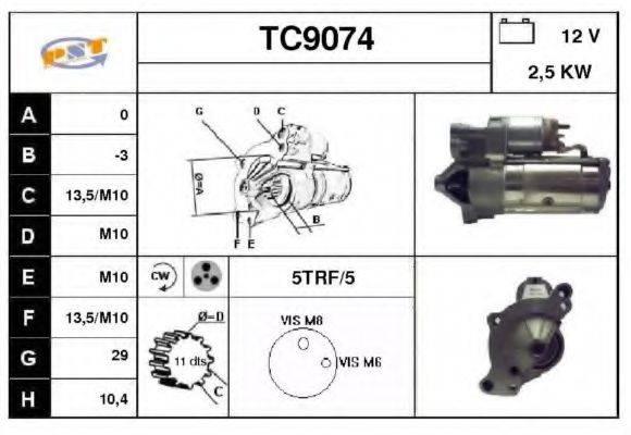 SNRA TC9074 Стартер