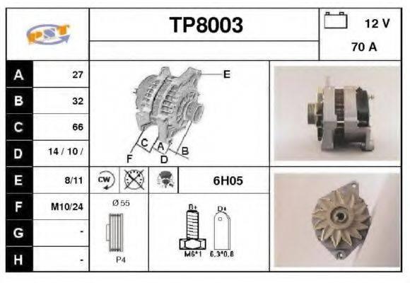 SNRA TP8003 Генератор