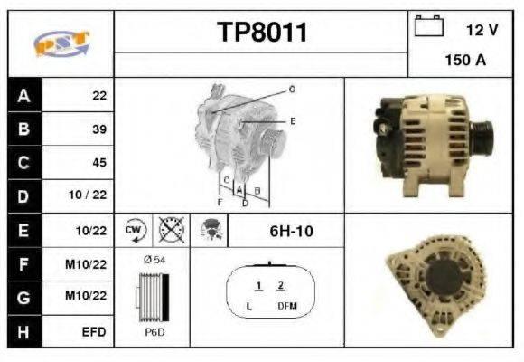 SNRA TP8011 Генератор