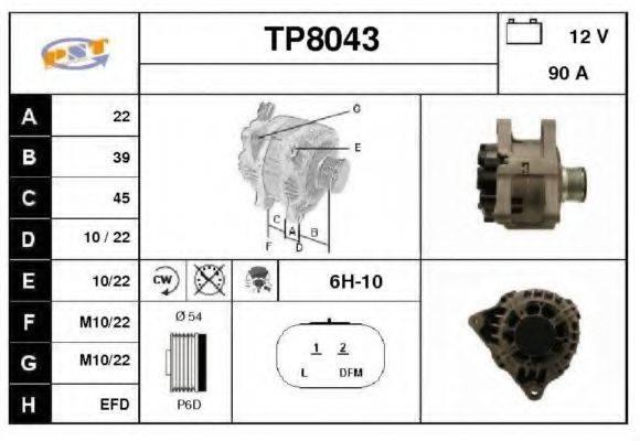SNRA TP8043 Генератор