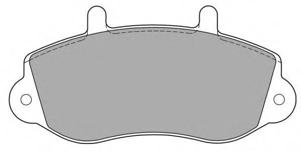 FREMAX FBP1140 Комплект тормозных колодок, дисковый тормоз
