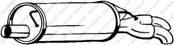 BOSAL 105009 Глушитель выхлопных газов конечный