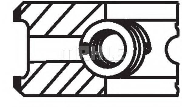 PERFECT CIRCLE 47904241 Комплект поршневых колец