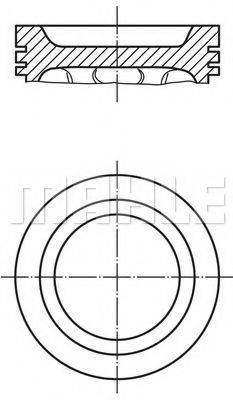 PERFECT CIRCLE 52167780 Поршень