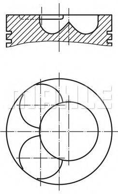 PERFECT CIRCLE 56005680 Поршень