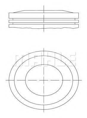PERFECT CIRCLE 56015680 Поршень
