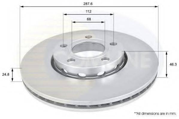 COMLINE ADC1417V Тормозной диск
