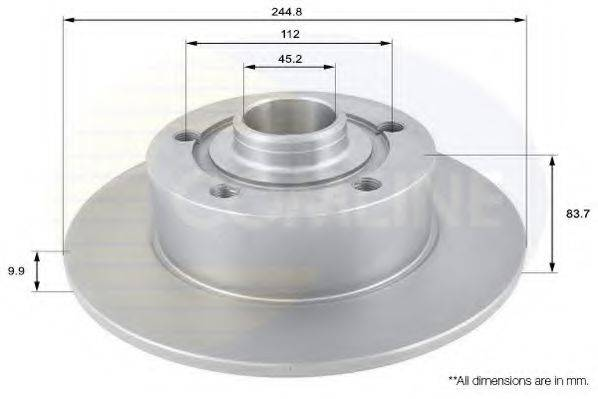 COMLINE ADC1419 Тормозной диск