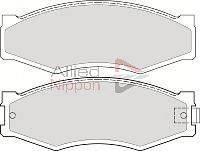 COMLINE ADB3387 Комплект тормозных колодок, дисковый тормоз