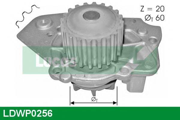LUCAS ENGINE DRIVE LDWP0256 Водяной насос