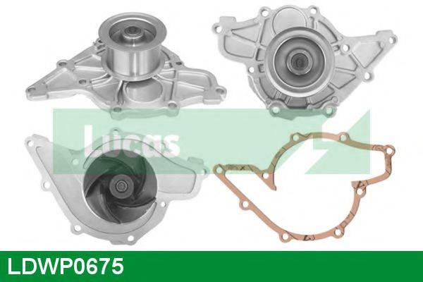 LUCAS ENGINE DRIVE LDWP0675 Водяной насос