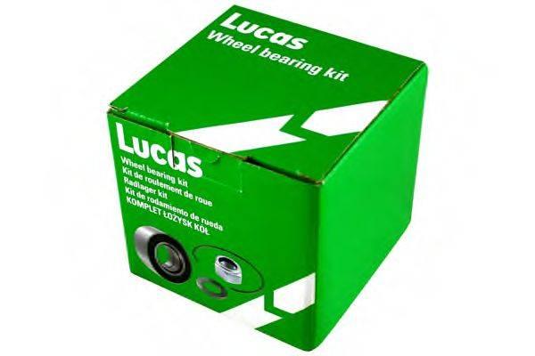 LUCAS ENGINE DRIVE LKBA62041 Комплект подшипника ступицы колеса