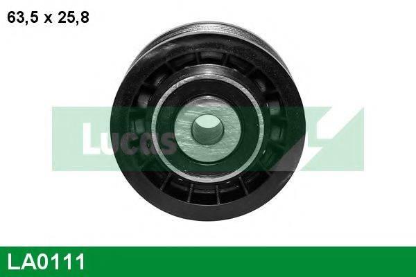 LUCAS ENGINE DRIVE LA0111 Натяжной ролик, поликлиновой  ремень