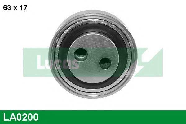 LUCAS ENGINE DRIVE LA0200 Натяжной ролик, поликлиновой  ремень