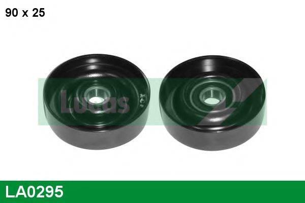 LUCAS ENGINE DRIVE LA0295 Паразитный / ведущий ролик, поликлиновой ремень