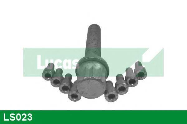 LUCAS ENGINE DRIVE LS023 Комплект болтов, ременный шкив - коленчатый вал