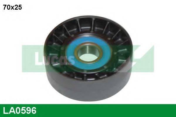 LUCAS ENGINE DRIVE LA0596 Паразитный / ведущий ролик, поликлиновой ремень