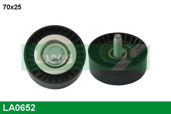 LUCAS ENGINE DRIVE LA0652 Паразитный / ведущий ролик, поликлиновой ремень