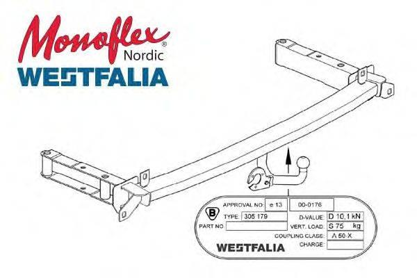 MONOFLEX 305179 Прицепное оборудование