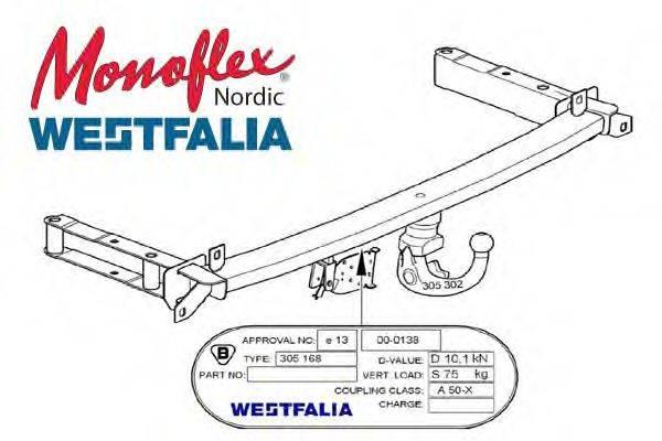 MONOFLEX 305220 Прицепное оборудование