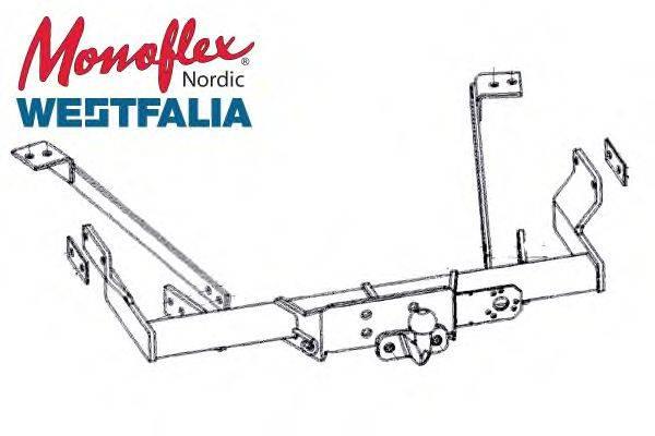 MONOFLEX 04107 Прицепное оборудование