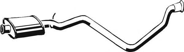 ASMET 08009 Средний глушитель выхлопных газов